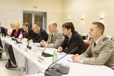 "The business meeting with representatives of the ""Nice Cote d'Azur"" airport was held at the Tolmachevo Airport"