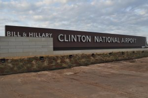 President Bill Clinton and Secretary Hillary Clinton Join Gov. Mike Beebe and Other Dignitaries to Dedicate Airport, Celebrate New