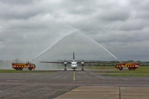 CityJet opens new Fokker 50 base