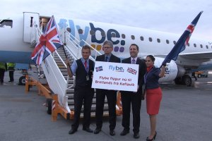 FLYBE CELEBRATES START OF 'TWILIGHT' FLIGHTS TO ICELAND