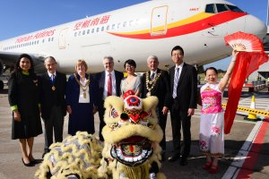 Birmingham Welcomes First Passengers in Extended Series of Direct Flights From Beijing