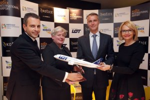 LOT POLISH AIRLINES WILL FLY FROM WARSAW TO KOŠICE