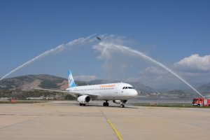 Gazipaşa-Alanya welcomes Tehran passengers of Freebird Airlines