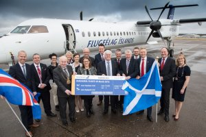 New Icelandair Service Takes to the Skies from Aberdeen International Airport