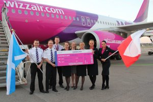WIZZ AIR LAUNCHES DIRECT FLIGHTS FROM  ABERDEEN TO WARSAW