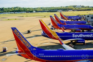 Southwest Airlines Relocates Ticket Counter to Accommodate Increasing Passengers