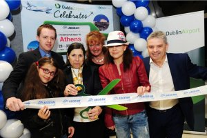 Aegan Airlines launches its 1st route Dublin - Athens