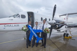 Chalair Aviation takes off on maiden flight from Hamburg Airport to Antwerp