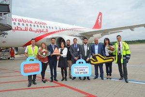 Cologne Bonn celebrates Air Arabia Maroc's fifth anniversary
