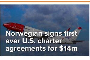 Norwegian Signs First Ever U.S Charter Agreement
