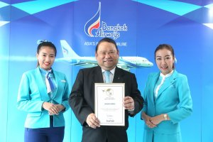 Bangkok Airways named Top 5 Best in Cabin Service and Top 10 Airline Overall Worldwide 2016  by SmartTravelAsia