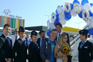 A festive meeting of the one-millionth passenger for the year at Varna Airport