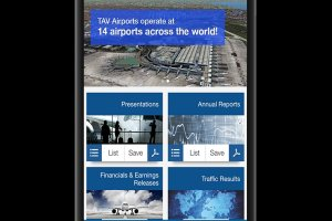 TAV Airports investor relations app is now online!