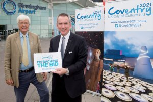 Birmingham Airport Supports Coventry in its UK City of Culture Bid