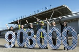 HIAL passenger numbers rise above 900,000 for the first time over the first two quarters