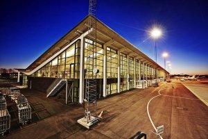 Aalborg Airport on Track