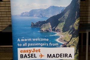 New route from Basel to Madeira by easyjet