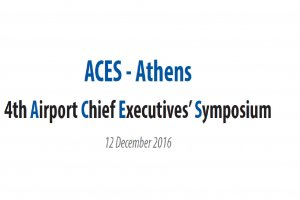 ACES – Athens: 4th Airport Chief Executives' Symposium
