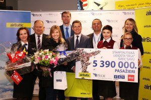 Riga Airport reaches a new passenger traffic record