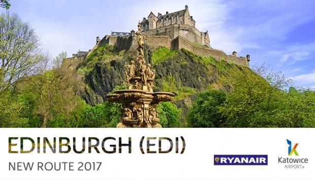 Edinburgh from Katowice Airport