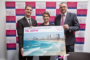 WIZZ opens new route from Lublin to Tel Aviv!