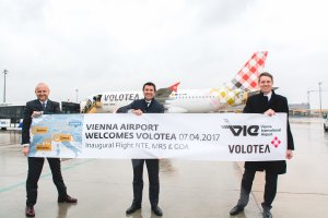 New from Vienna: Volotea Flies to Nantes, Marseille and Genoa