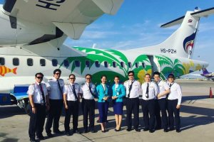 Bangkok Airways receives its latest ATR72-600