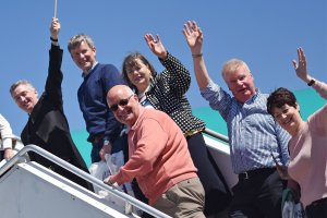 Historic Aer Lingus charter to New York takes to the skies from Ireland West Airport