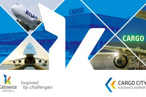 Katowice Airport Cargo City at Air Cargo Europe Transport Logistic 2017/9-12 May/Messe Munich/Hall B1, at stand 239.