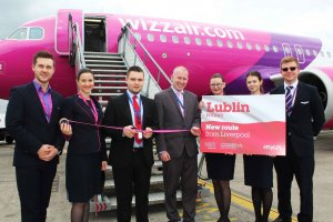 Wizz Air commence flights to  Lublin from LJLA