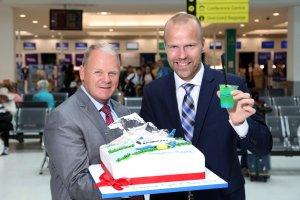 Routes Europe co-host celebrates as Icelandair route takes off