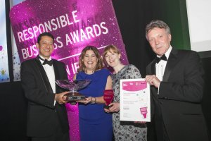 BELFAST CITY AIRPORT NAMED NI RESPONSIBLE COMPANY OF THE YEAR