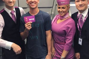 The First Anniversary for Edinburgh Airport and WOW Air
