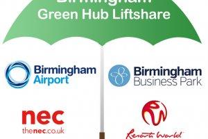 Birmingham Businesses Launch Birmingham Green Hub Liftshare Venture