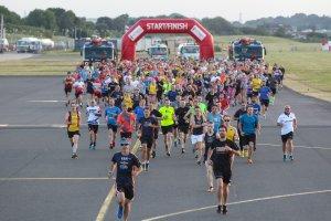 Records beaten at Southampton Airport Runway Run