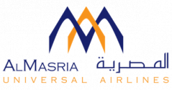 AlMasria Universal Airlines logo