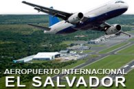 El Salvador International Airport logo