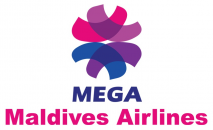 MEGA Maldives Airlines logo