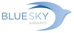 BlueSky Airways logo