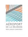 Aéroport de la Réunion Roland Garros logo