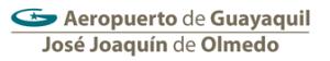 Aeropuerto Jose Joaquin de Olmedo logo