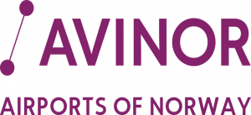 Avinor OSL BGO SVG TRD Airports logo