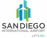 San Diego International Airport (SDCRAA) logo