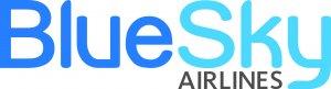 BlueSky Airlines logo