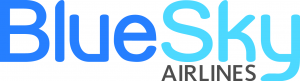 BlueSky Airlines logo