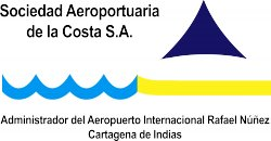 Rafael Núñez International Airport logo