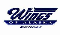 Wings Of Alaska Airlines logo