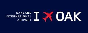 Oakland Intl Airport - San Francisco Bay, California USA logo