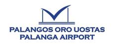 Palanga Airport logo