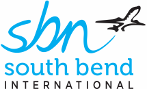 South Bend International Airport logo